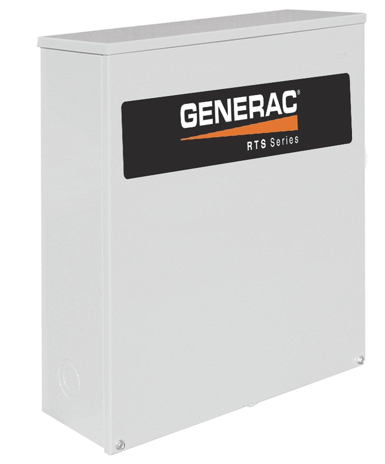 Generac RTSN200J3 Generator Transfer Switch 200-Amp 120/240 3 NEMA 3R CUL (Discontinued by Manufacturer)