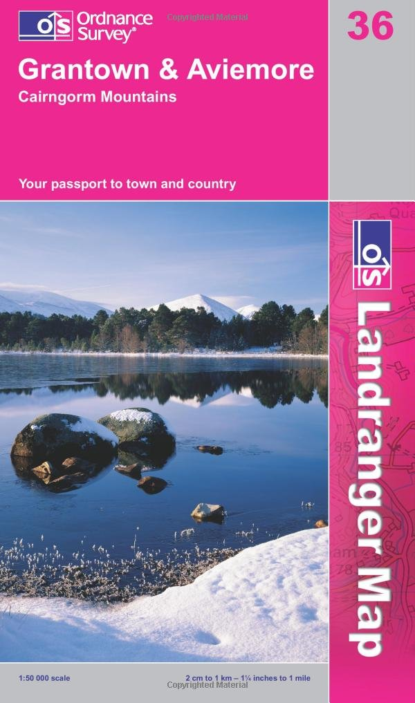 grantown-aviemore-and-cairngorm-mountains-os-landranger-map