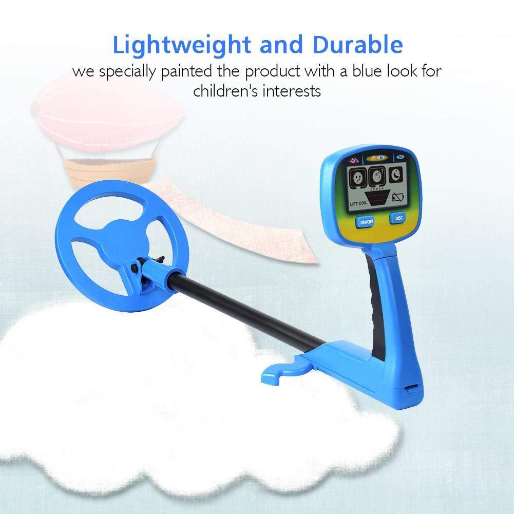 Cazador de Monedas con Pantalla LCD - Detector de Metales para niños y Principiantes Buscador de Tesoros niños: Amazon.es: Jardín