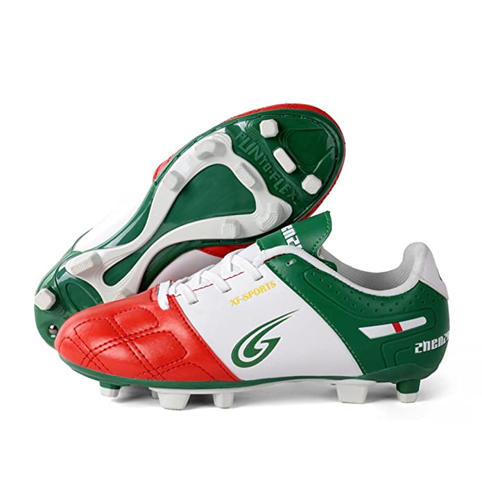 2c78254a7 Anduode Performance Kids  Firm Ground Soccer Cleats Football Shoes Soccer  Shoes  Amazon.ca  Shoes   Handbags
