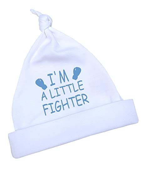 c9a48a514 BabyPrem Preemie Baby Hat Little Fighter Boy Girl Clothes 3.5-7.5lb