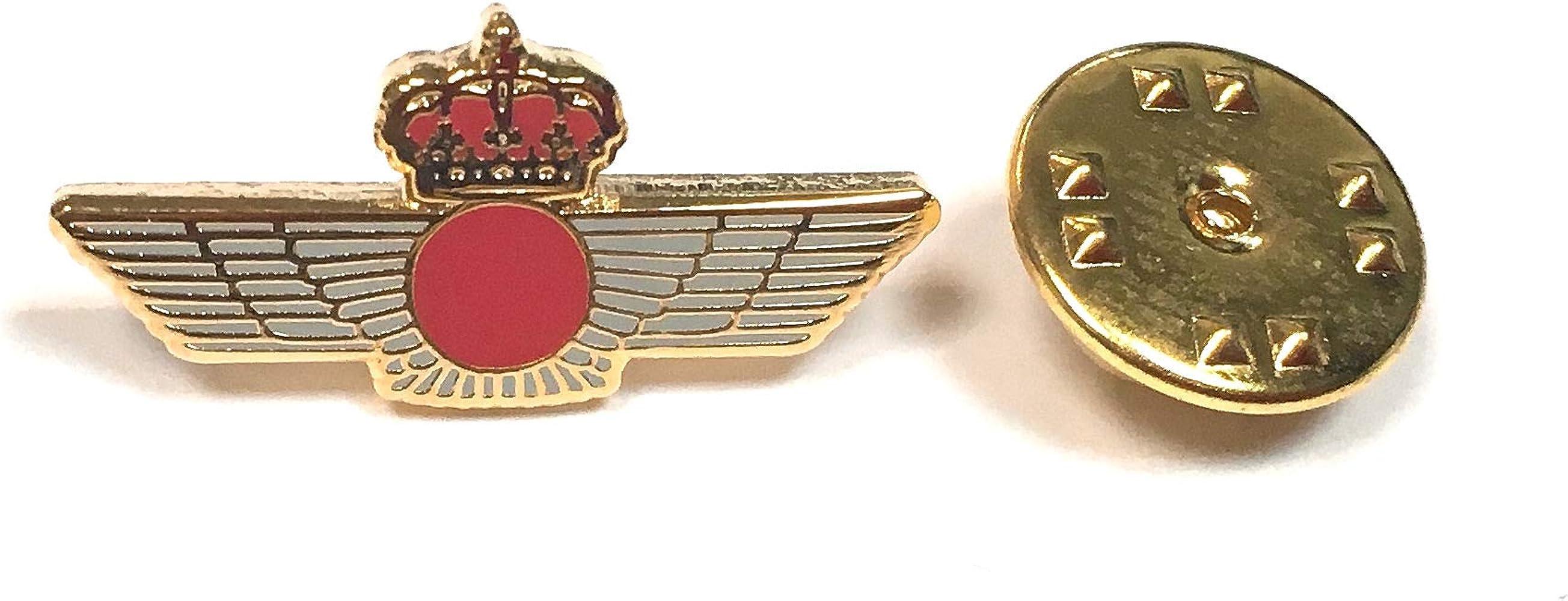 Gemelolandia Pin de traje Emblema Ejercito Español del Aire: Amazon.es: Ropa y accesorios