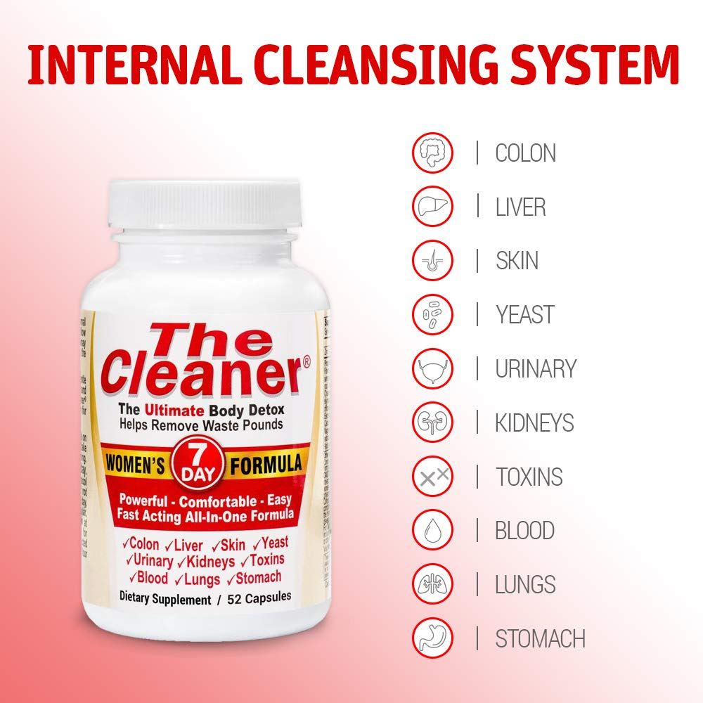 The Cleaner 7Day Women's Formula Ultimate Body Detox