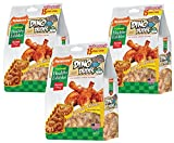 Nylabone 3 Pack Of Healthy Edibles Dino Dudes Chicken Dog Treats, 15 Count each