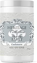 Cashmere, Heritage Collection All In One Chalk Style Paint (NO WAX!) (32oz)