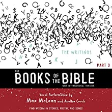 NIV, the Books of the Bible: The Writings: Find Wisdom in Stories, Poetry, and Songs Audiobook by Biblica - editor Narrated by Anelise Crouch