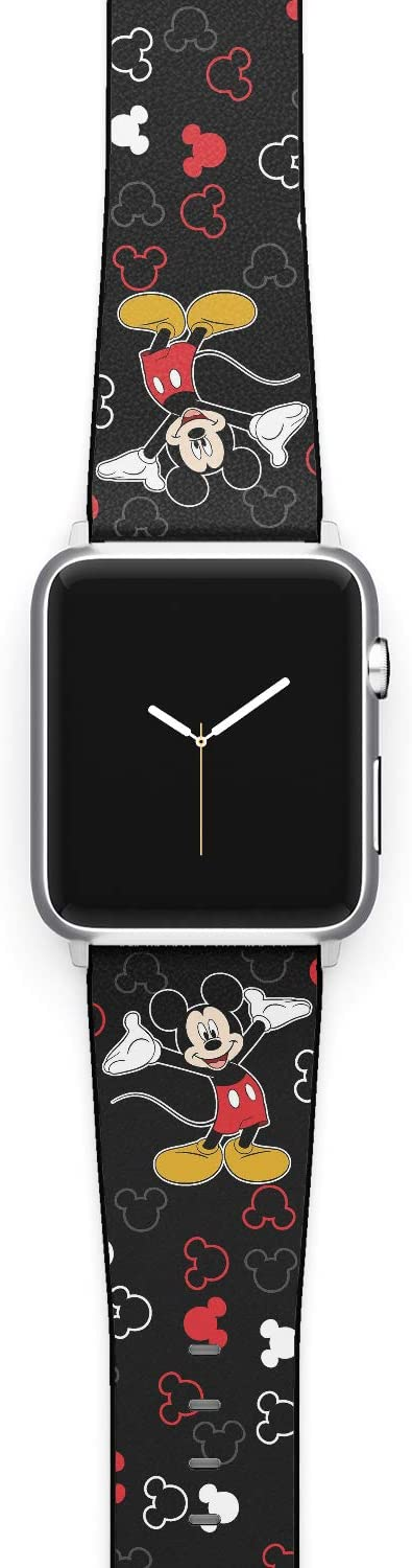 Watch Band Compatible with Apple iWatch All Series 38mm 40mm 42mm 44mm Cartoon Design Strap (mickm1) (38/40mm)