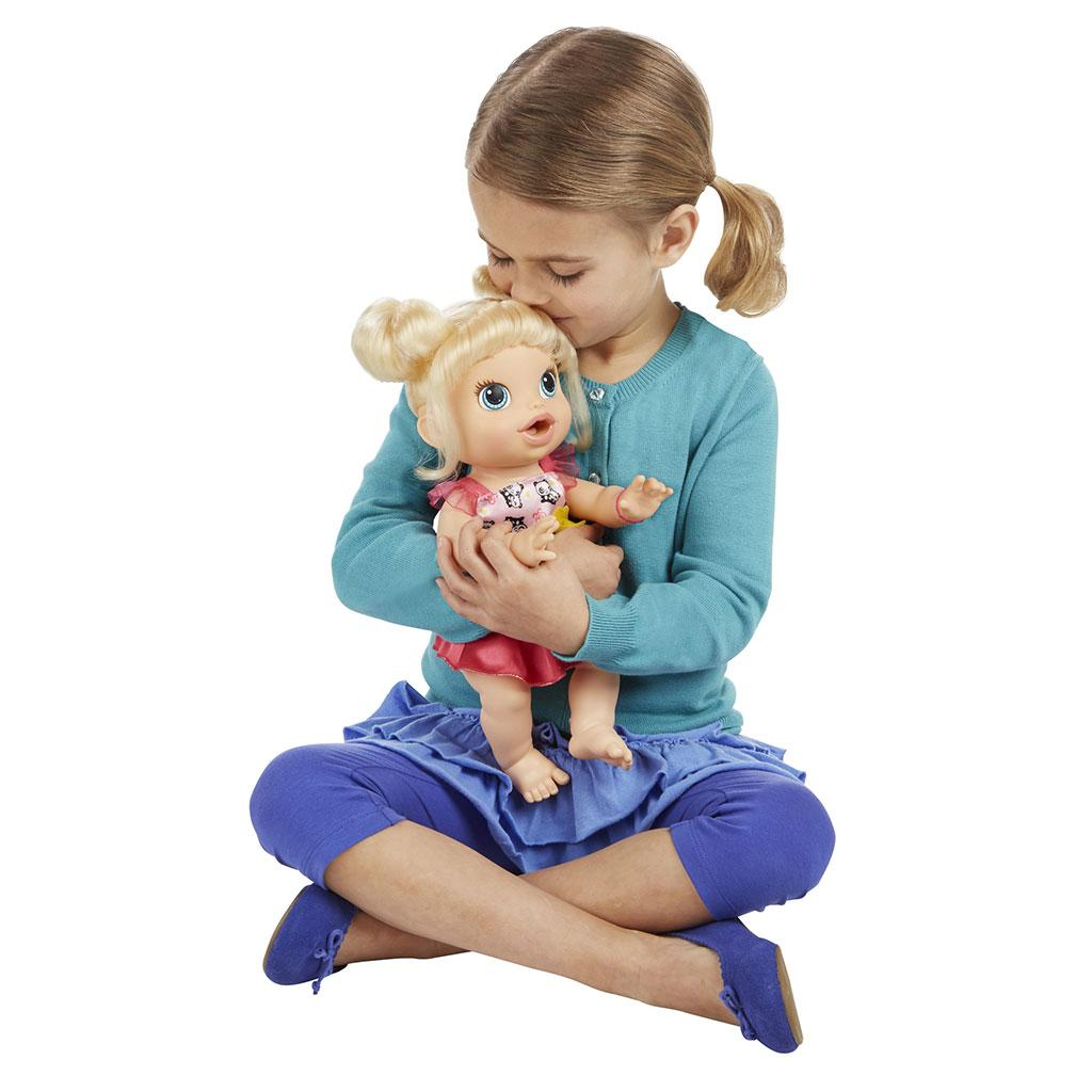 Amazon Com Baby Alive My Baby All Gone Doll Blonde Toys