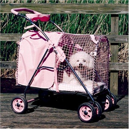 5th Avenue SUV Standard Pet Stroller Color: Pink