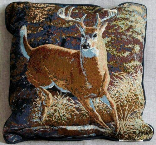 (Scene Weaver Mountain Resident Throw Pillows - Extraordinary Gentleman)