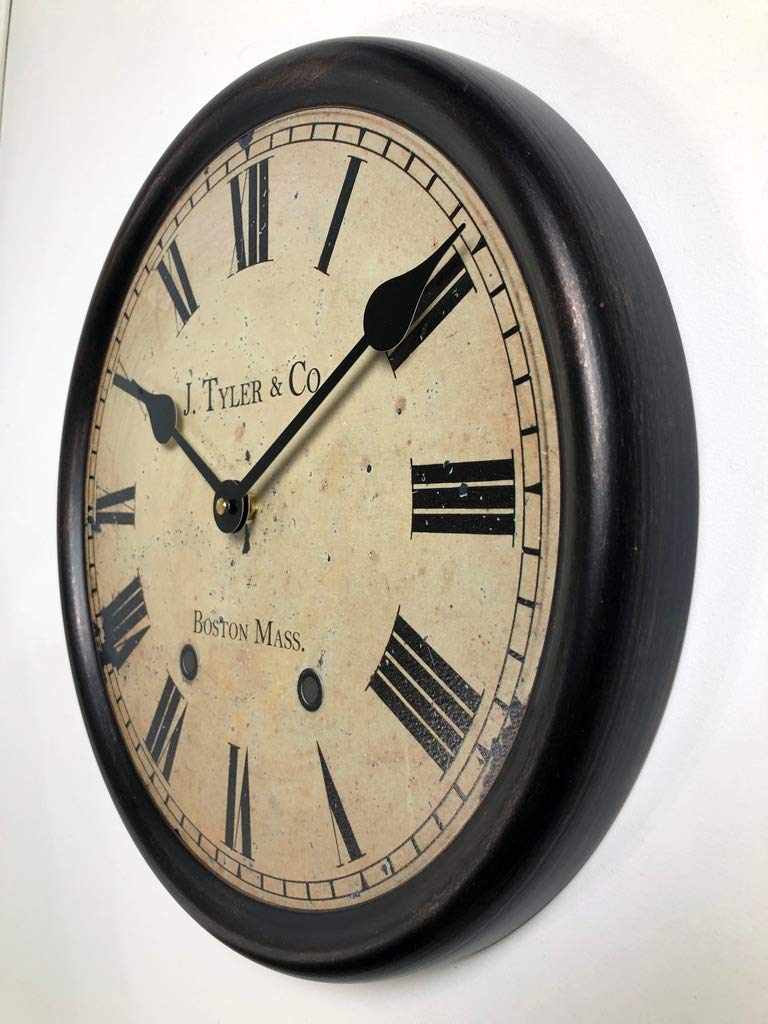 1911 English Longcase Wall Clock, Available in 8 Sizes, Most Sizes Ship The Next Business Day,