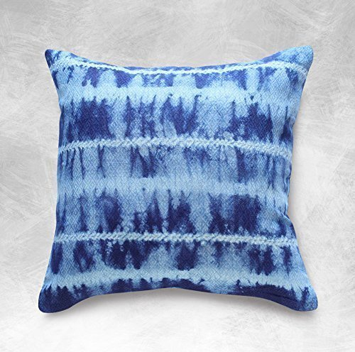 shibori pillow cover indigo pillow tie dyed cushion pillow boho pillows decorative