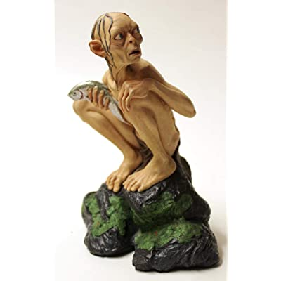 Lord Of The Rings Gollum Statue Figure Smeagol LOTR: Home & Kitchen