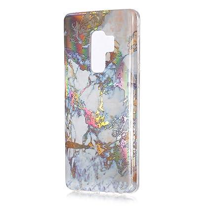 Amazon.com: Galaxy S9 Funda, 3d brillante colorido cubierta ...