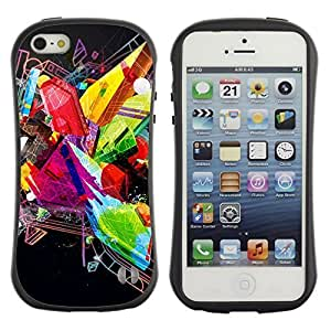 High quality Case for Apple iPhone 4s 4s Abstract Colorful & Cool Design