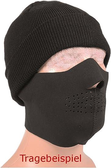 masque noir protection