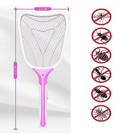 GL-home Mosquitera eléctrica Mosquitos de Mosca Swatter Zapper Bat ...