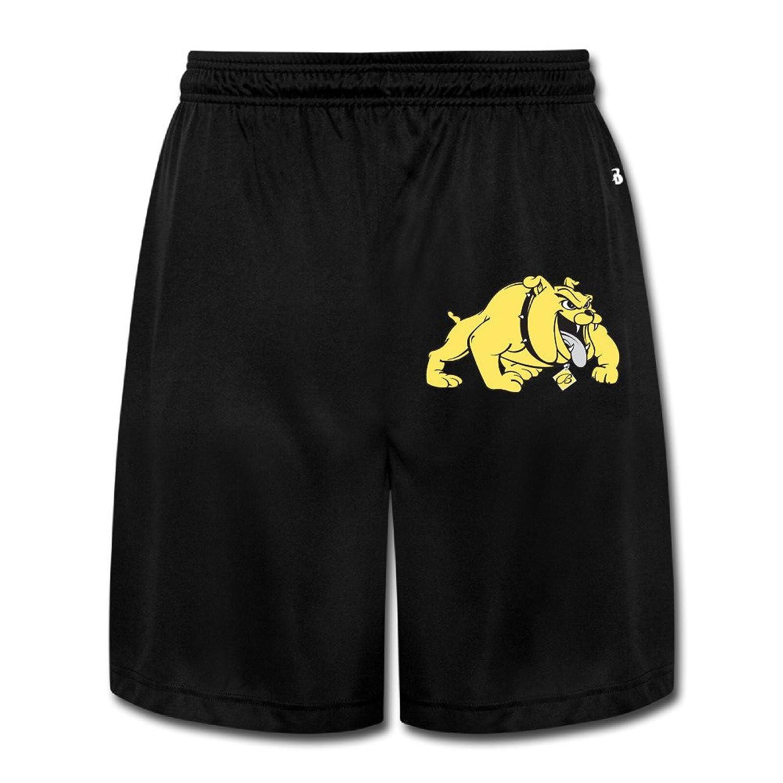 MGTER66 Men's Bowie State University Logo Short Pants Black