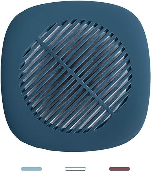 Bathroom Drain Hair Catcher Bath Stopper Sink Strainer Filter Shower Cover Blue