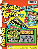 J & G Fake Lottery Tickets - 1 Pack