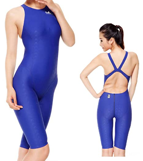 97dfb79d2d Image Unavailable. Image not available for. Color  YingFa 925 one Piece  Racing Swimsuit FINA Approved for Women -Sharkskin ...
