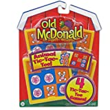 Party Destination - Old McDonald Tic Tac Toe Games