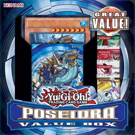 - Yu-Gi-Oh! Poseidras Value Box (Realm of the Sea Emperor Structure Deck & 4 Booster Packs & Jumbo Card)
