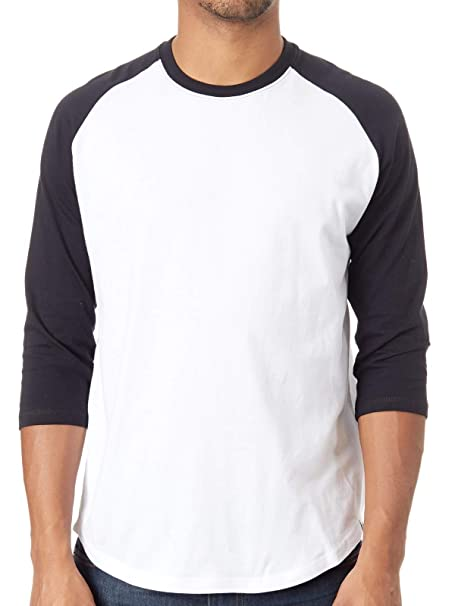 Element Camiseta con Mangas Raglan Basic Optic Blanco: Amazon.es: Ropa y accesorios