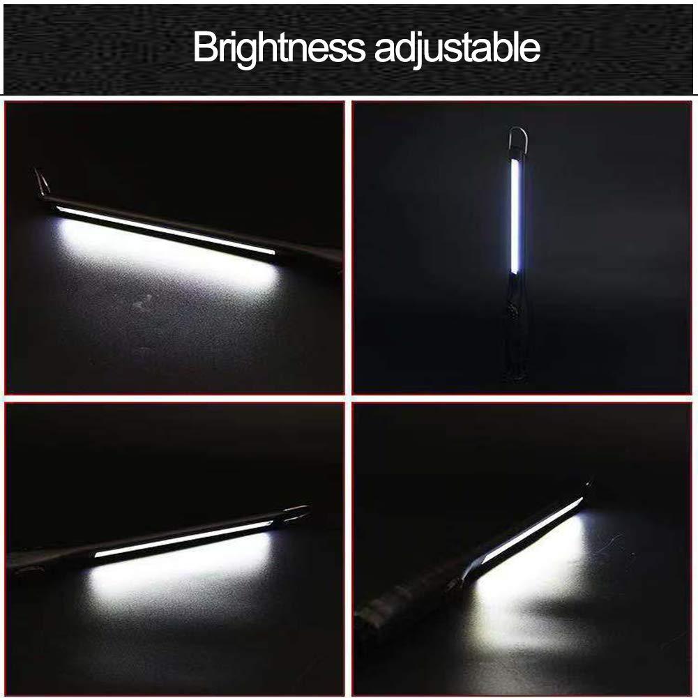 Luce di Lavoro LED Ricaricabile con Base lampade ispezione per lescursione di Campeggio allaperto Nero AuRiver Lampada da Lavoro LED Ricaricabile Magnetica Portatile Professionale per Officina