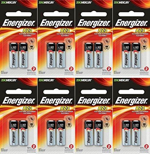 8 x Energizer 23A A23 12 Volt