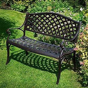 Antique effect irom garden furniture