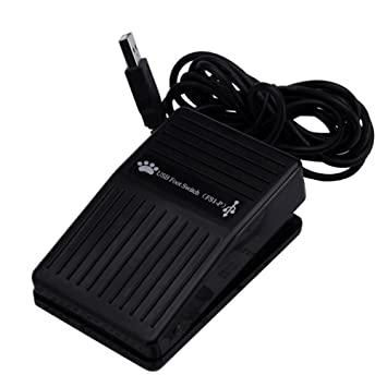 Vococal® Pedal HID USB Foot Control teclado acción interruptor