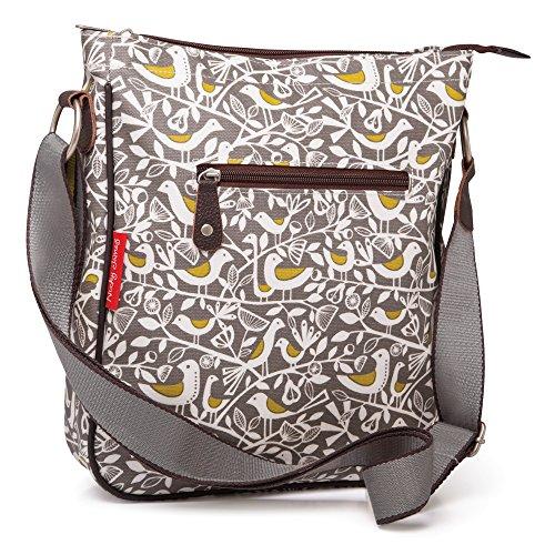 Nicky Crossbody Bag James Grey Print Doves xwFBpzx