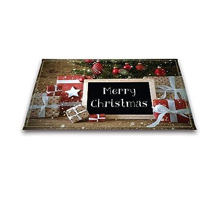 LB Toalla de Navidad Adornos de Bolas de Navidad Decoraciones Caja de Regalo y Madera de