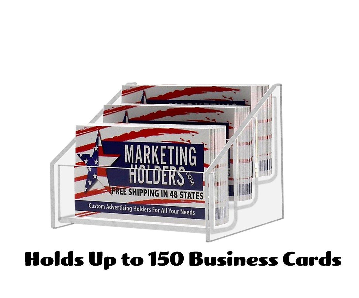 Amazon Marketing Holders 3 Tier Business Card Holder Display