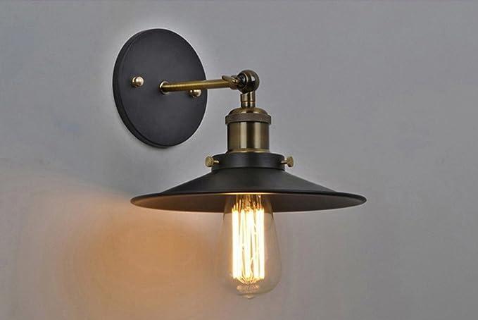 Applique da parete industriale in stile vintage lampada da terra
