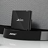 Ziocom Bluetooth Audio Adapter Music Receiver 8 pin Bluetooth 4.2 Wireless Converter Perfect for Bose Sounddock III/XT, JBL MS302GM,Philips DS1155B / 93 ,Compatible with Amazon Echo and Echo Dock