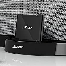 Ziocom Bluetooth Audio Adapter Music Receiver 8 pin Bluetooth 4.2 Wireless Converter Perfect for Bose Sounddock III/XT, JBL MS302GM,Philips DS1155B/93 ,Compatible with Amazon Echo and Echo Dock