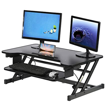 Bon Image Unavailable. Image Not Available For. Color: Standing Desk Height  Adjustable Riser Stand Up ...
