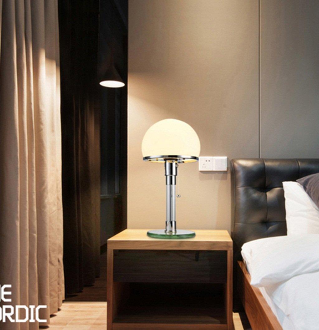 GJ- Tischlampe Nordic Study Bett Mode Einfache Kunst Kunst Kunst Glas Led Lampe B0793R7D96 | Elegant  e8e291