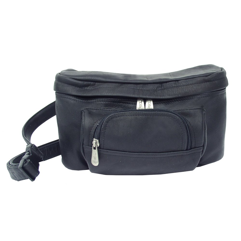 Piel 9903-BLK XX Large Carry All Waist Bag - Black   B002FMPWJU