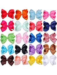 Large Boutique Hair Bows 6 Inch Cheerleading Cheerleader...