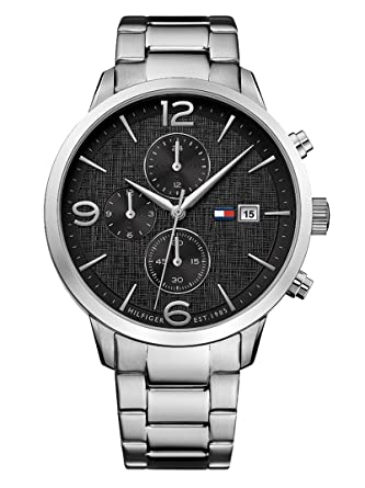 Tommy Hilfiger Silver Stainless Steel Watch-1710356