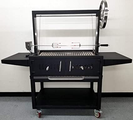 Amazon.com: MCP Island Grills Black Outdoor Charcoal BBQ ...