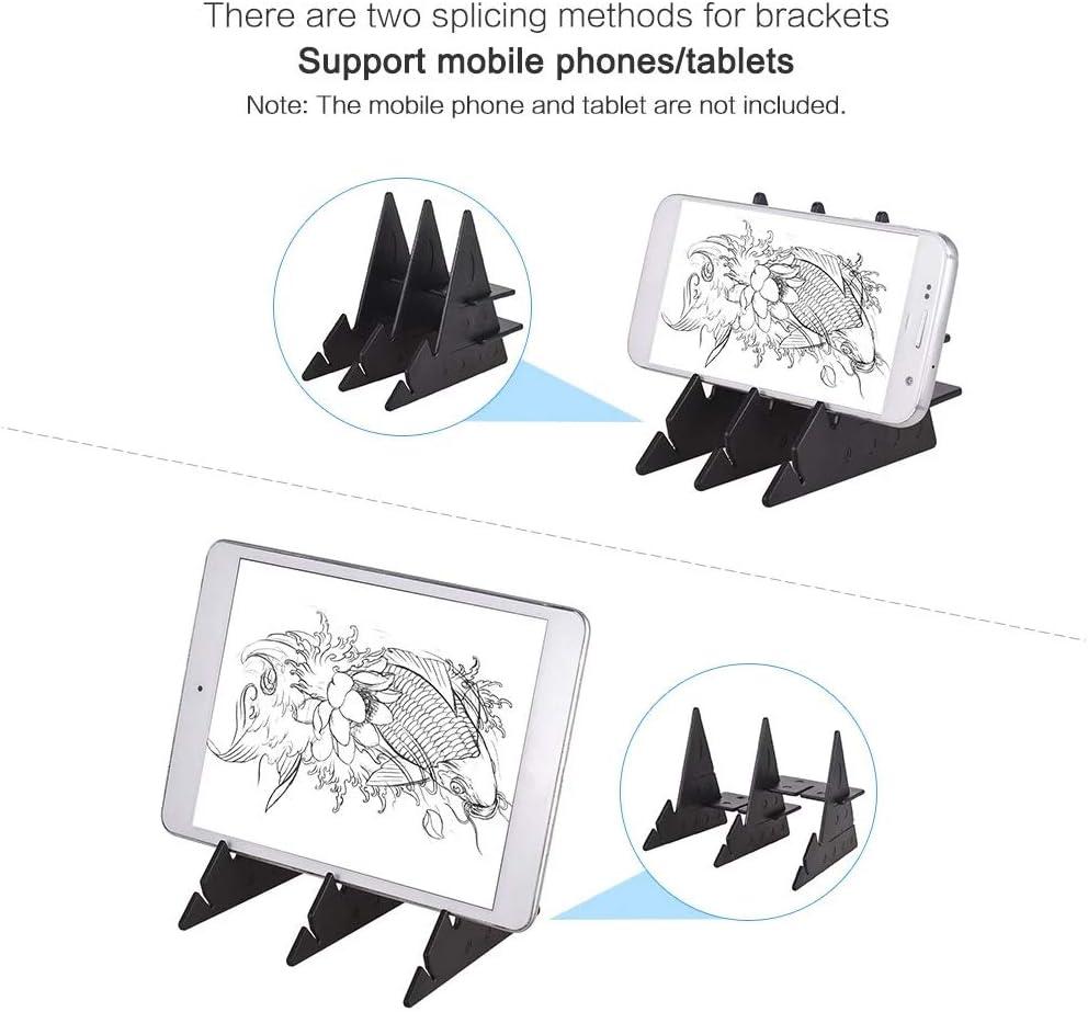 Almohadilla de Trazado de Dibujo de Bricolaje Panel de Reflexi/ón del Proyector de Imagen Port/átil Tablero de Dibujo de Boceto de Anime Herramienta de Dibujo F/ácil Almohadilla de Trazado de Dibujo