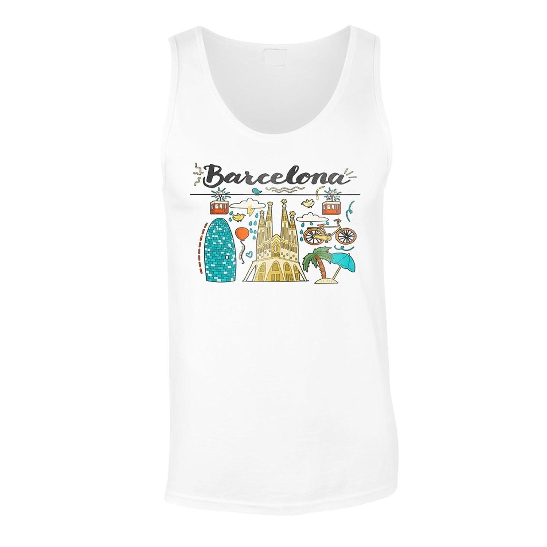 Neue Barcelona Spanien Zu Tun Herren Tank top m466mt: Amazon.de: Bekleidung
