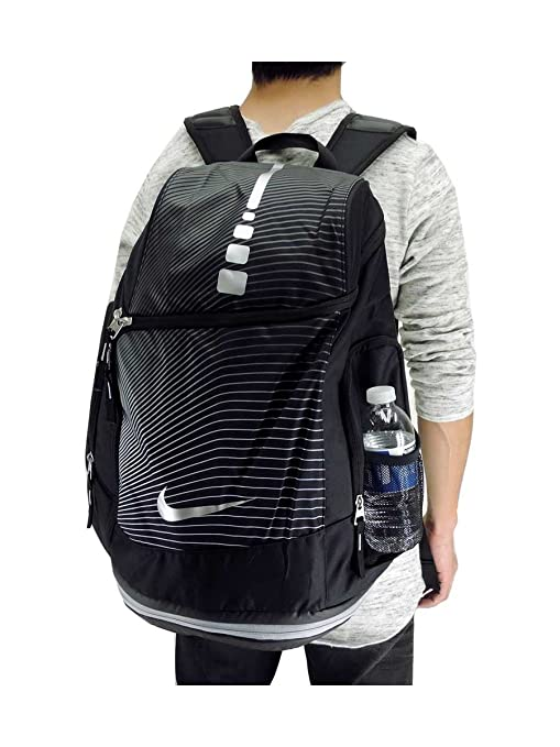 4def5e3a46 Nike Hoops Elite Max Air BP Gr Zaino unisex, Unisex adulto, Negro/Gris