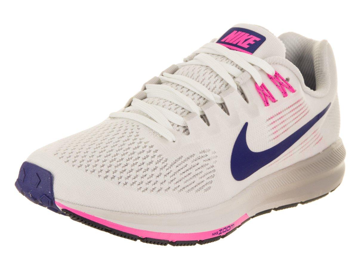 5546986d9c2 Galleon - NIKE Women s Air Zoom Structure 21 Summit White Deep Royal Blue  Running Shoe 9.5 Women US