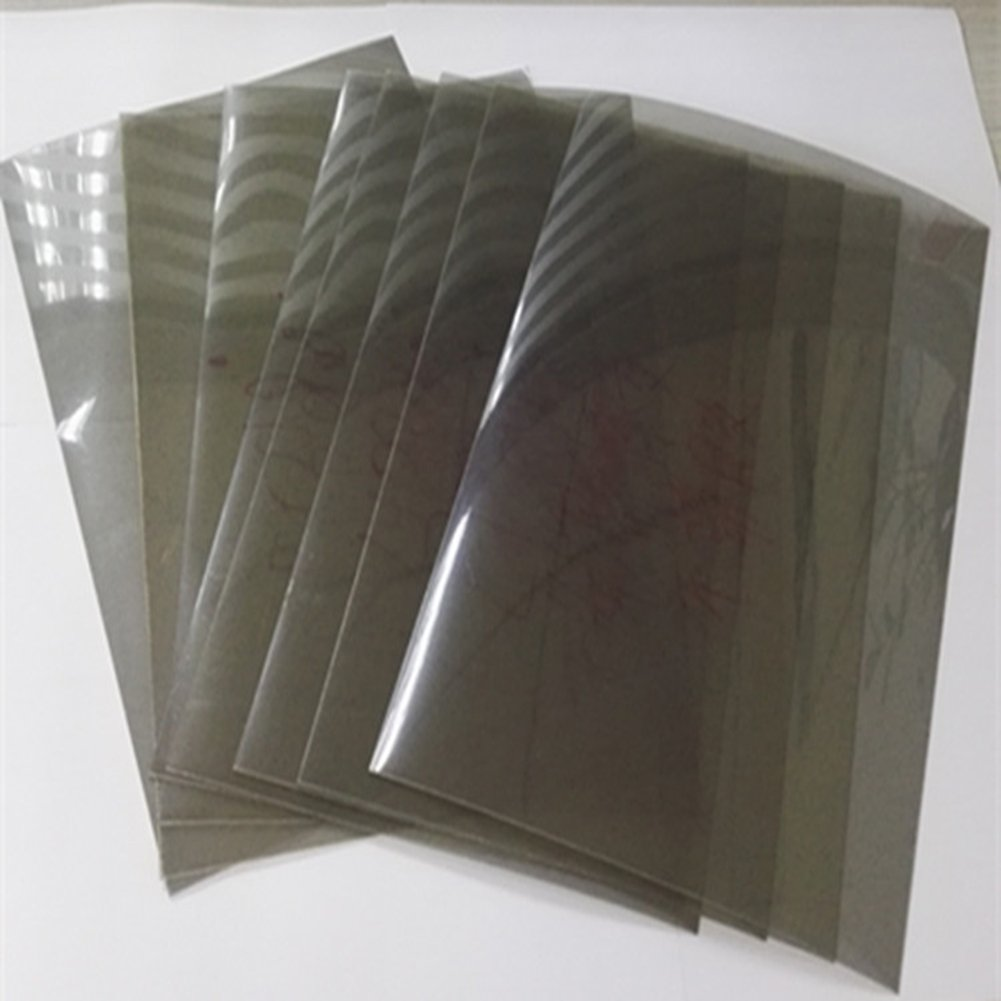 A4 size 90 Degree Linear Polarization Sheet Polarizer Educational Physics Polarized Filter Optical -2pcs Hony Optical Company Limited 002