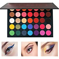 Beauty Glazed Pressed Powder 35 Colors Eyeshadow Palette Shimmer Matte Color Studio Eye Makeup Natural Colors High Pigment Eye Shadow